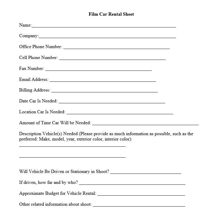 film-car-rental-sheet
